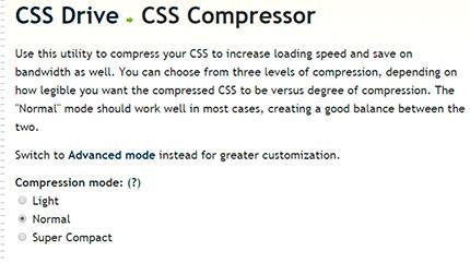 CSS Compresor