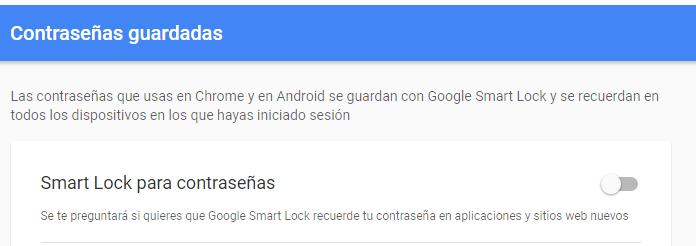 Google Smart Lock